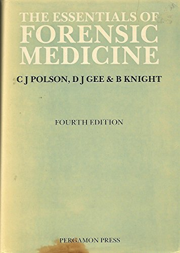 9780080288680: The Essentials of Forensic Medicine