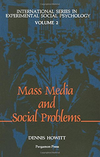 9780080289182: Mass Media and Social Problems (International Series in Experimental Social Psychology, V. 2)