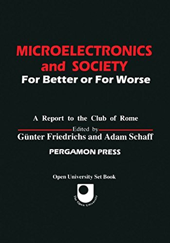 9780080289564: Microelectronics and Society: For Better or for Worse (Pergamon International Library of Science, Technology, Engineering & Social Studies)