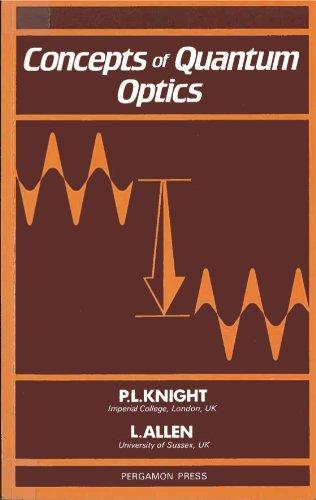 9780080291505: Concepts of Quantum Optics