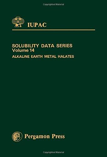 9780080292120: Alkaline Earth Metal Halates (Solubility Data Series)