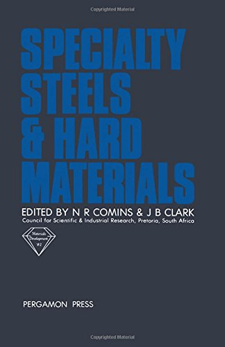 9780080293585: Speciality Steels and Hard Materials: Conference Proceedings