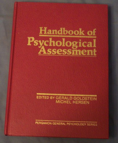 9780080294018: Handbook of Psychological Assessment (General Psychology)