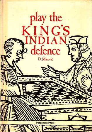 9780080297279: Play the King's Indian Defence (Pergamon chess openings)