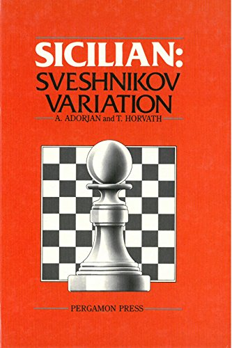9780080297354: Sicilian: Sveshnikov Variation (Pergamon chess openings)