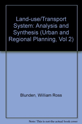 9780080298368: Land-Use Transport System (Urban and Regional Planning, Vol 2)