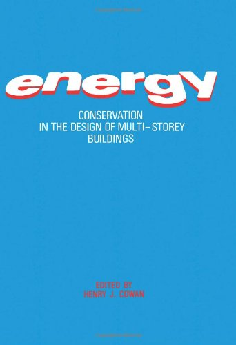 9780080298504: Energy Conservation in the Design of Multistory Buildings