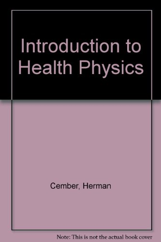 9780080301297: Introduction to Health Physics