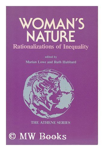 9780080301426: Woman's Nature Rationalizations Of Inequality