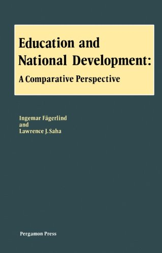 9780080302027: Education and National Development: A Comparative Perspective