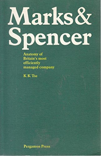 9780080302126: Marks and Spencer: Anatomy of Britain's Most Efficiently Managed Company