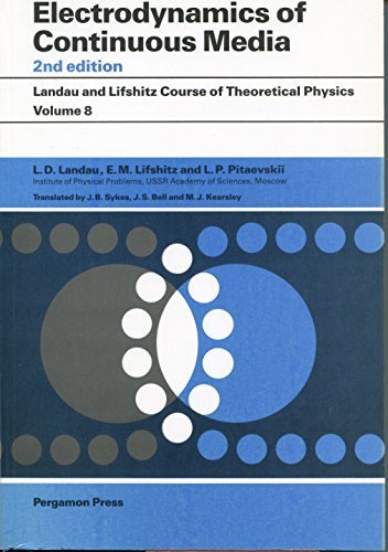 9780080302751: Course of Theoretical Physics, Volume 8, Volume 8, Second Edition: Electrodynamics of Continuous Media