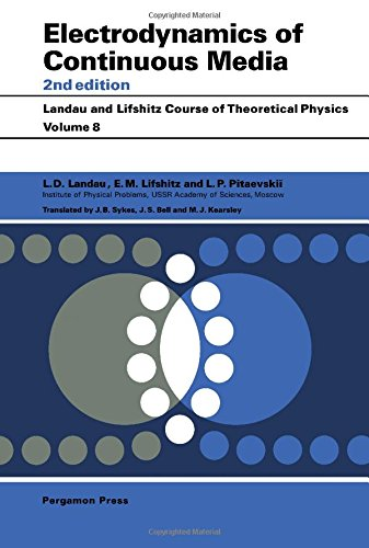 9780080302768: Electrodynamics of Continuous Media (Course of Theoretical Physics S.)