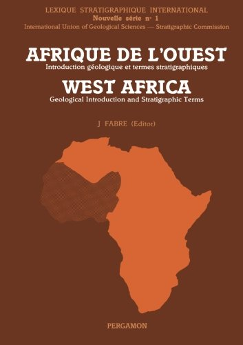 9780080302775: Afrique de L'Ouest: Introduction Géologique et Termes Stratigraphiques: Geological Introduction and Stratigraphic Terms (Journal of African Earth Science)