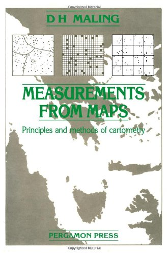 9780080302898: Measurements from Maps: Principles and Methods of Cartometry