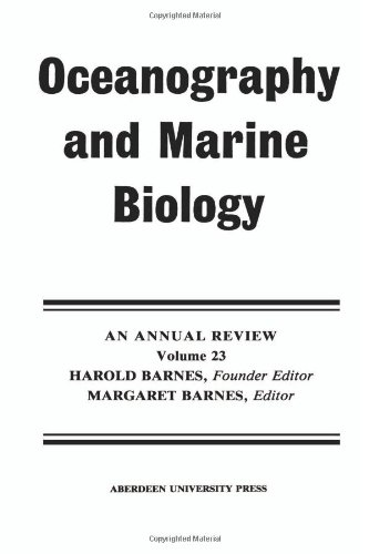 oceanography and marine biology barnes margaret gibson r n