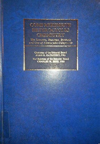 9780080307015: Comprehensive Heterocyclic Chemistry: v. 1