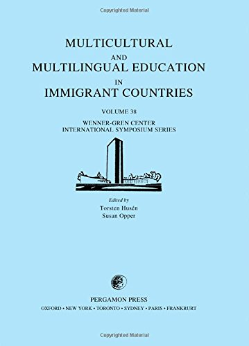 9780080307589: Multicultural and Multilingual Education in Immigrant Countries: Proceedings of an International Symposium Held at the Wenner-Gren Center, Stockholm (Wenner-Gren Center International Symposium Series)
