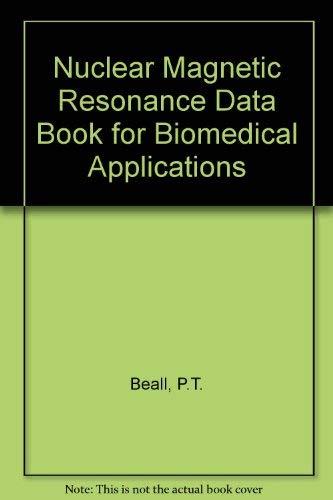 9780080307756: Nmr Data Handbook for Biomedical Applications