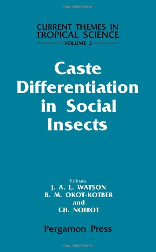 9780080307831: Caste Differentiation in Social Insects (Current Themes in Tropical Science, Vol. 3)