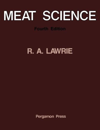 9780080307893: Meat Science: Fourth Edition (Supplement No. 4, 1985 to the European Journal of Cancer and)