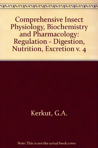 9780080308050: Comprehensive Insect Physiology, Biochemistry & Pharmacology : Volume 4