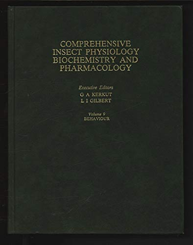 9780080308104: Comprehensive Insect Physiology, Biochemistry & Pharmacology : Volume 9