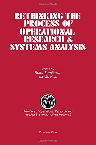 9780080308296: Rethinking the Process of Operational Research and Systems Analysis (Frontiers of operational research and applied systems analysis)