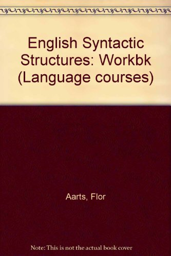 9780080310855: English Syntactic Structures: Workbk (Language courses)