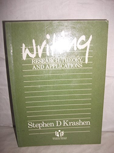 9780080311036: Writing: Research, Theory and Applications (Language Teaching Methodology)