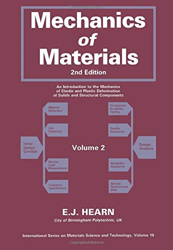 9780080311517: Mechanics of Materials: v. 2: An Introduction to the Mechanics of Elastic and Plastic Deformation of Solids and Structural Components (Materials Science & Technology Monographs)