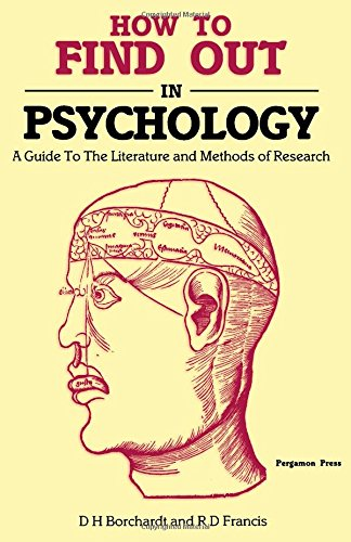 9780080312804: How to Find Out in Psychology