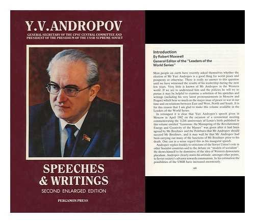 9780080312873: Speeches and Writings (Leaders of the World) (English and Russian Edition)