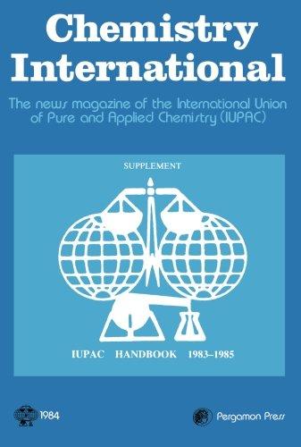 9780080314372: Iupac Handbook 1983-85