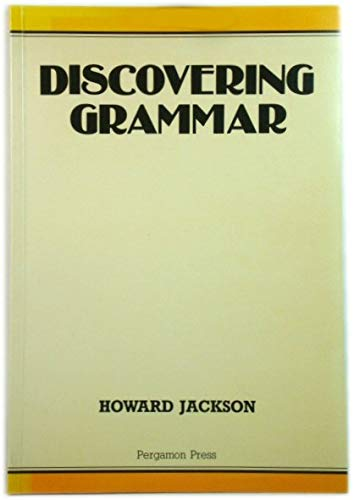 Discovering Grammar: Jackson Howard