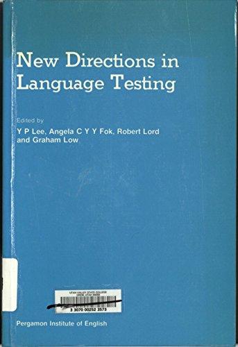 9780080315355: New Directions in Language Testing (Language Teaching Methodology)