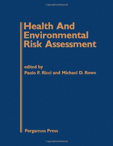 9780080315782: Health and Environmental Risk Assessment