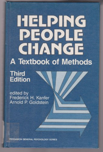 9780080316000: Helping People Change: A Textbook of Methods (Pergamon International Library of Science, Technology, Engin)