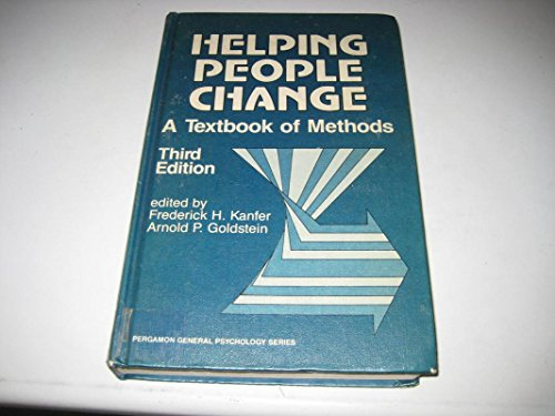 9780080316017: Helping People Change: A Textbook of Methods (General Psychology)