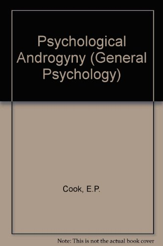 9780080316123: Psychological Androgyny (Pergamon Government & Politics Series)