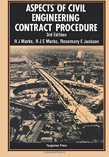 9780080316383: Aspects of Civil Engineering Contract Procedure