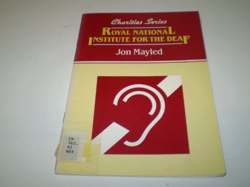 9780080317625: Royal National Institute for the Deaf (Charities)