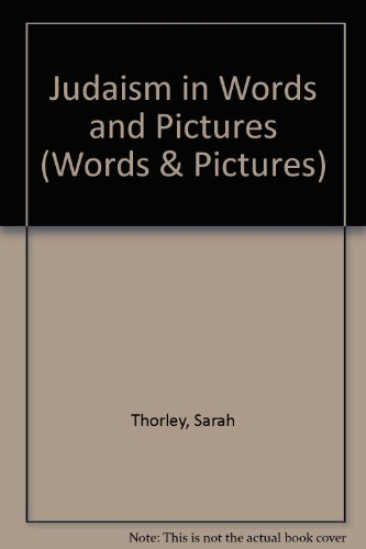 9780080317793: Judaism in Words and Pictures (Words & Pictures)