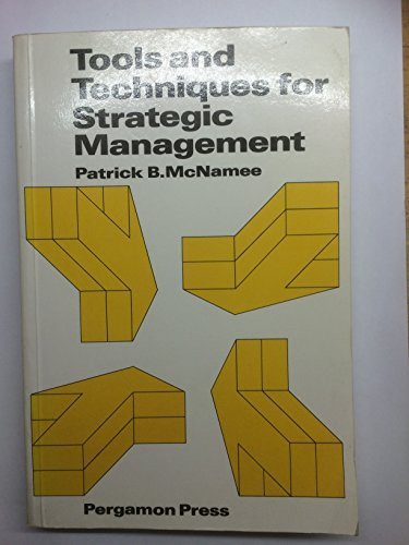 9780080318097: Tools & Techniques for Strategic Management