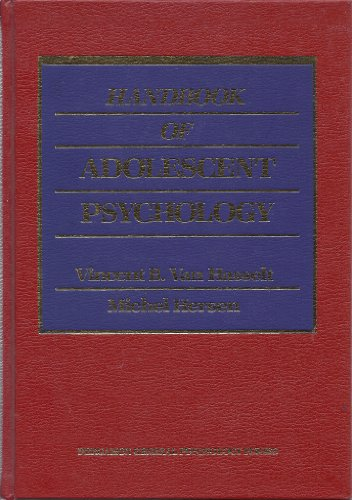 9780080319230: Handbook of Adolescent Psychology (General Psychology)