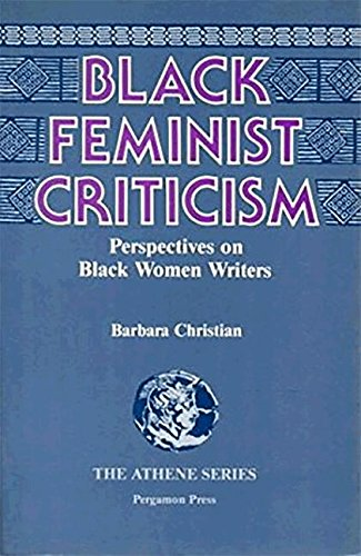 9780080319568: Black Feminist Criticism: Perspectives on Black Women Writers (Athene)