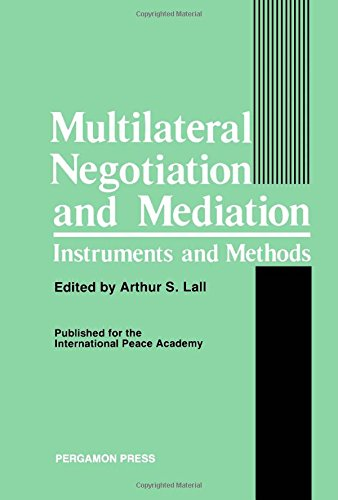9780080319575: Multilateral Negotiation and Mediation