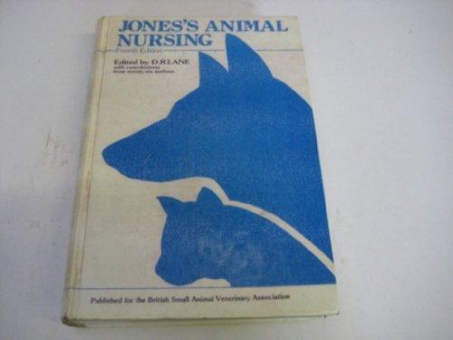 9780080319827: Jones' Animal Nursing (Pergamon international library)