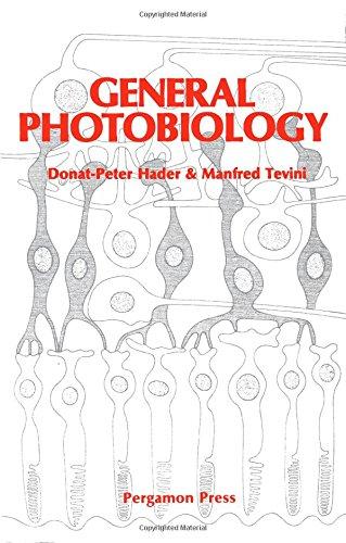 9780080320274: General Photobiology