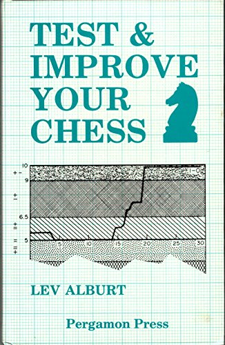 9780080320410: Test and Improve Your Chess: Numerical Evaluation and Other Improvement Techniques (Pergamon chess series)
